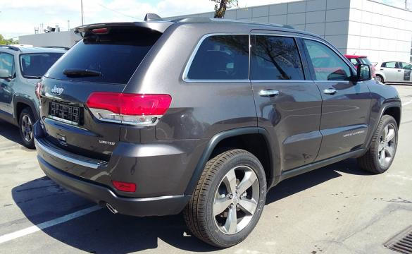 Jeep Grand Cherokee LIMITED V6 3.0 CRD A8 Quadra-Trac - 3