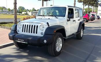 Jeep Wrangler UNLIMITED SPORT 2,8 CRD A5 200 - 2